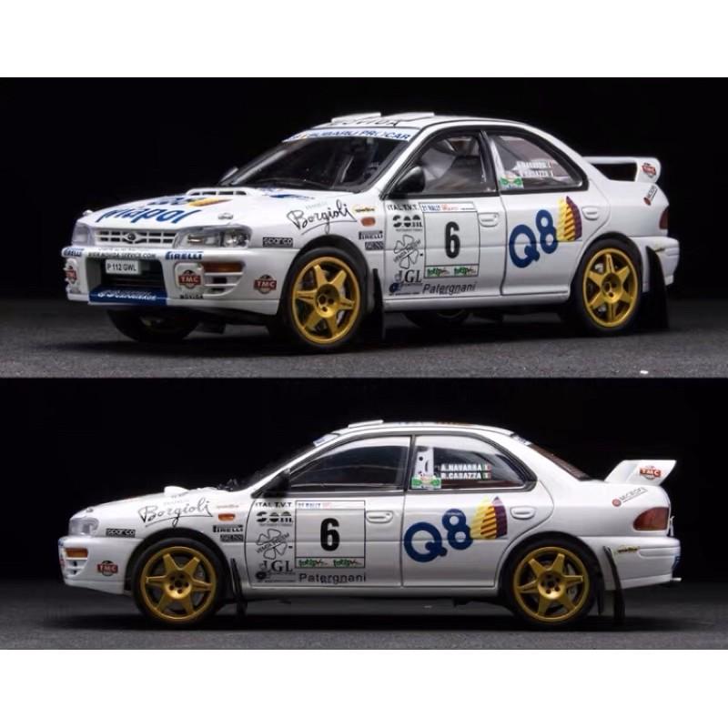 BuyCar 模型車庫 1:18 Subaru Impreza WRC 1998年 模型車