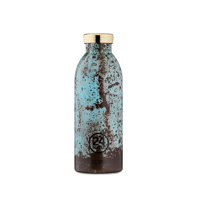 【24Bottles 城市水瓶】不鏽鋼雙層保溫瓶 500ml/青銅