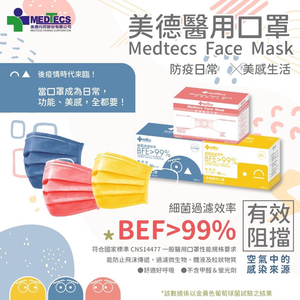 【現貨】【醫療級】【Medtecs】美德手術防護口罩/醫用口罩/熊讚聯名款