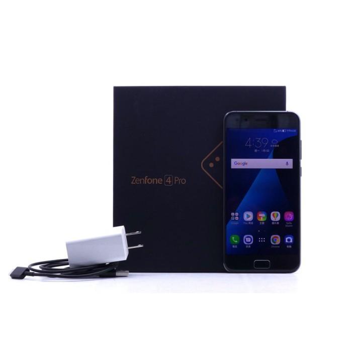 【台中中古ASUS手機】Asus Zenfone 4 Pro ZS551KL 黑 6+64G 二手 手機 #20819