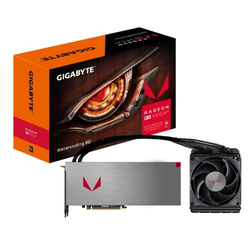技嘉 Radeon RX VEGA64 8G 一體式水冷 原廠備品 公版 限定版 GTX 1080參考