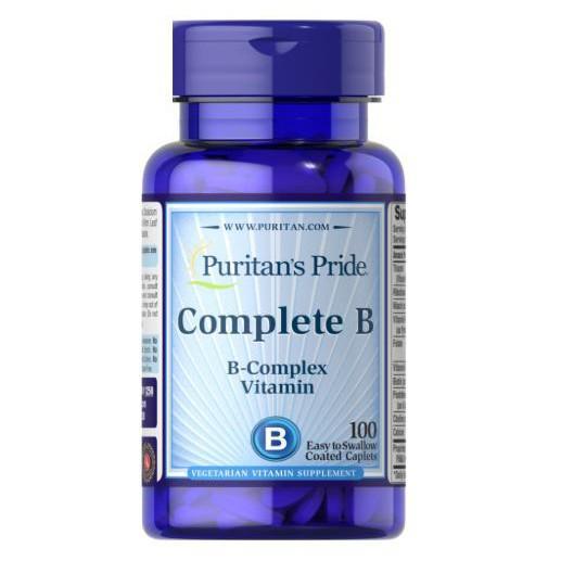 Puritan's Pride B群 Complete B 維他命B群 100顆1