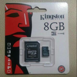 《金士頓 /  創見 /  廣穎》MicroSDHC 8GB/ 16GB Class 4 記憶卡