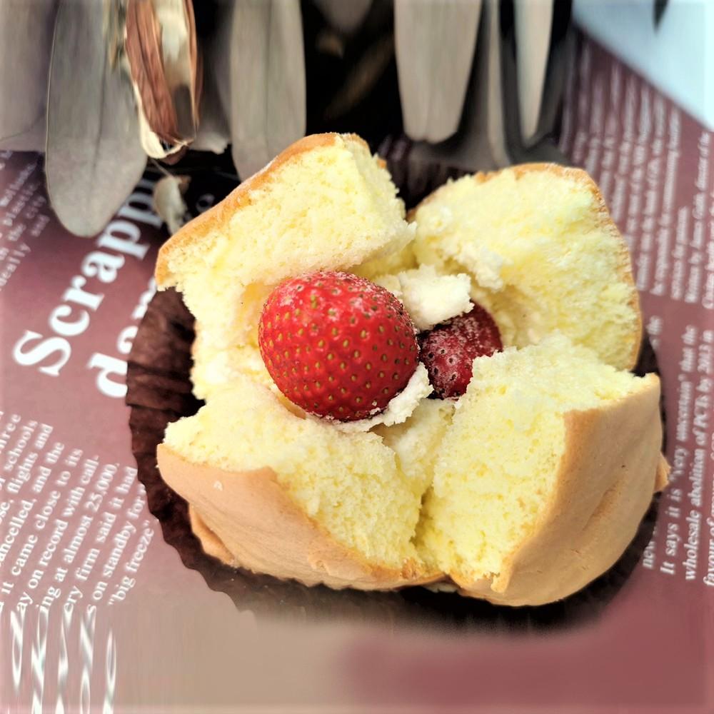 【ERSTE PATISSERIE艾斯特烘焙】草莓生乳火山 ‧ 季節限定 4入/ 盒《冷藏宅配》