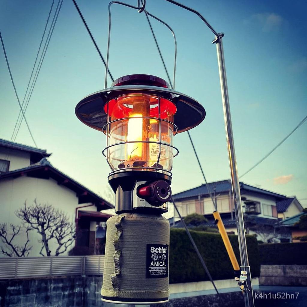 現貨  露營燈 照明燈 手電筒 LED 野營燈 工作燈coleman科勒曼2500北極星戶外瓦斯露營燈照明燈汽燈日版 國