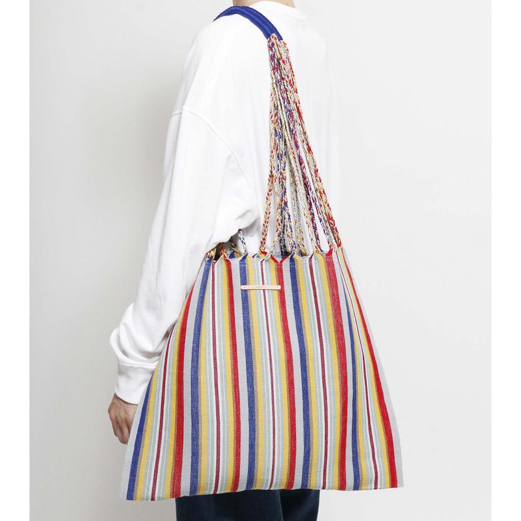 {NERD} PIPS × nanamica EXCLUSIVE PIPS HAMMOCK BAG 墨西哥復古手工編織包