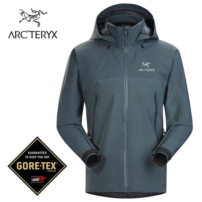 【ARCTERYX 始祖鳥 加拿大】Beta AR 透氣防水外套 風雨衣 防水夾克 男款 灰綠色 (L07450300)