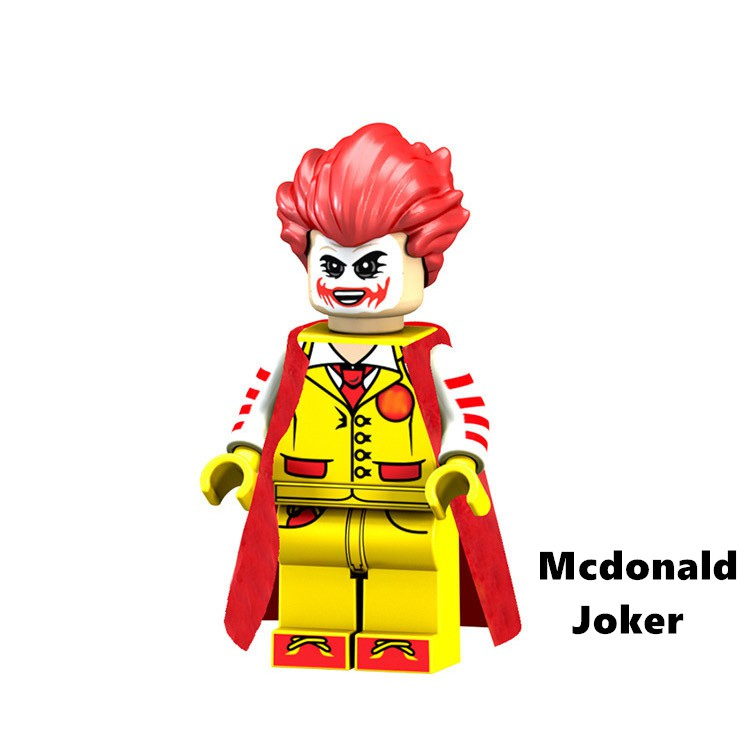 麥當勞 小丑 DC 樂高 相容 第三方 人偶 積木 玩具 公仔 PG1542