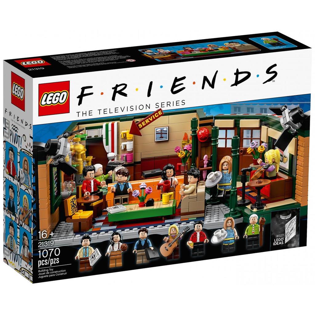 【CubeToy】樂高 21319 IDEAS 六人行 中央公園咖啡館 - LEGO FRIENDS -