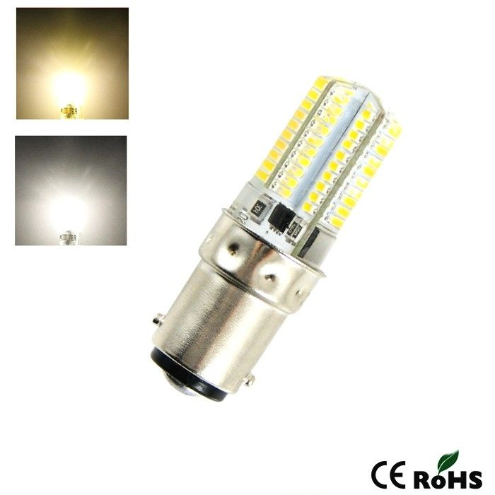 高效节能led蠟燭燈泡B15小螺口暖白BA15D可調光1142 220v蠟燭燈110v小燈泡