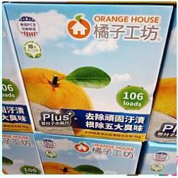 COSTCO好市多代購~橘子工坊濃縮洗衣粉(4公斤)