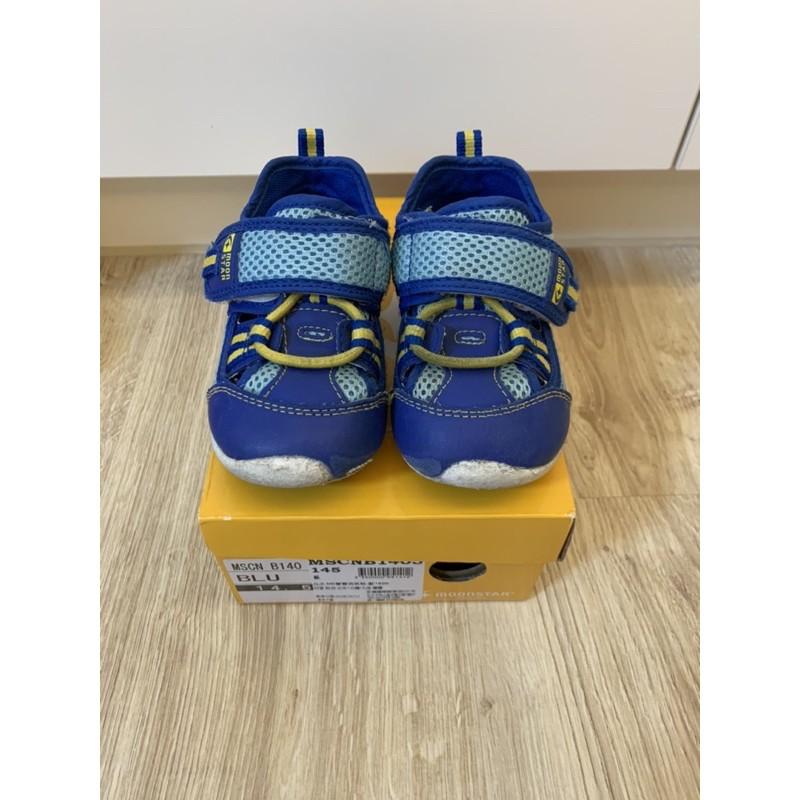 [二手]日本MoonStar月星學步鞋童鞋-14.5