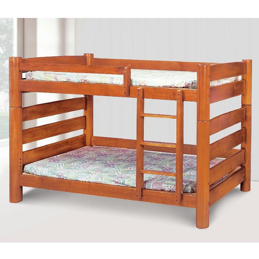 【111cm雙層床-E187-2】床底 床架 高腳床組 抽屜收納 臥房床組 【金滿屋】