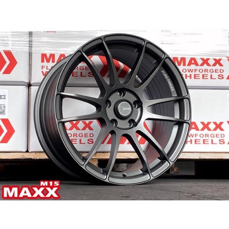 高雄人人輪胎 MAXX M15 18吋 旋壓 鋁圈 5孔 100 114.3 8J ET40