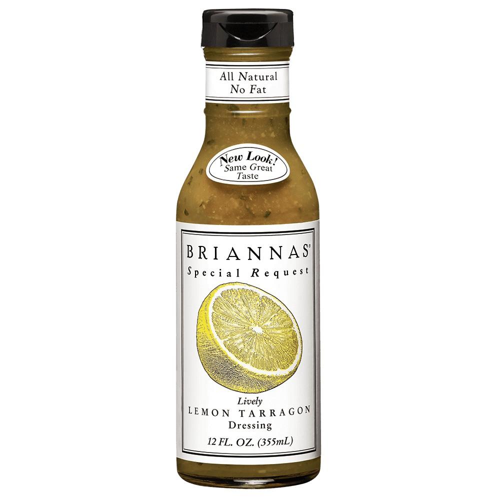 美國 BRIANNAS 零脂檸檬龍蒿醬 Lively Lemon Tarragon (Fat Free) 355ml