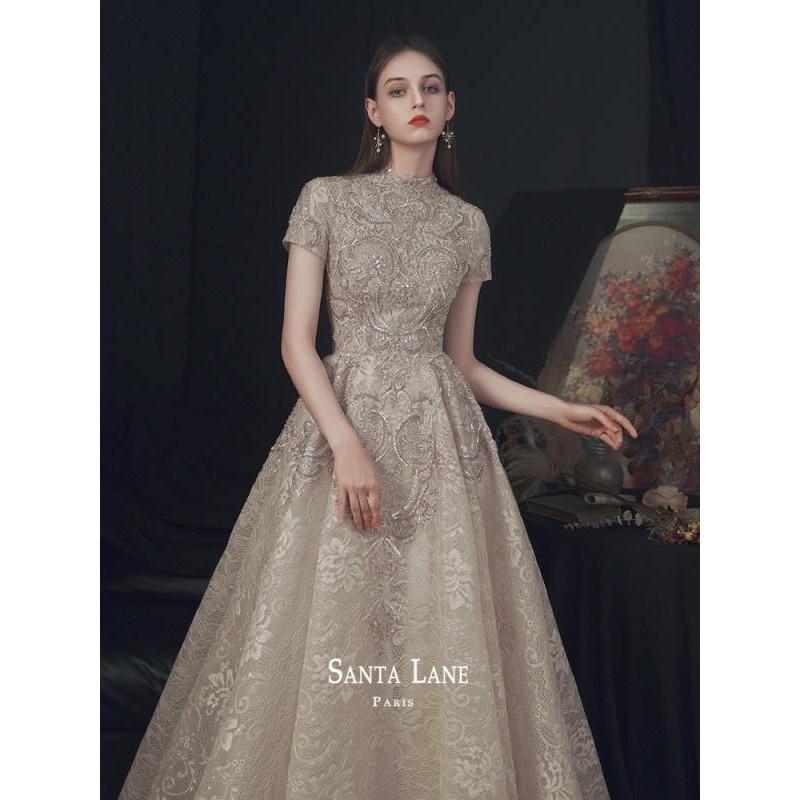 禮服2020新款氣質《莘夏》伴娘服敬酒服新娘宴會回門晚禮服生日裙