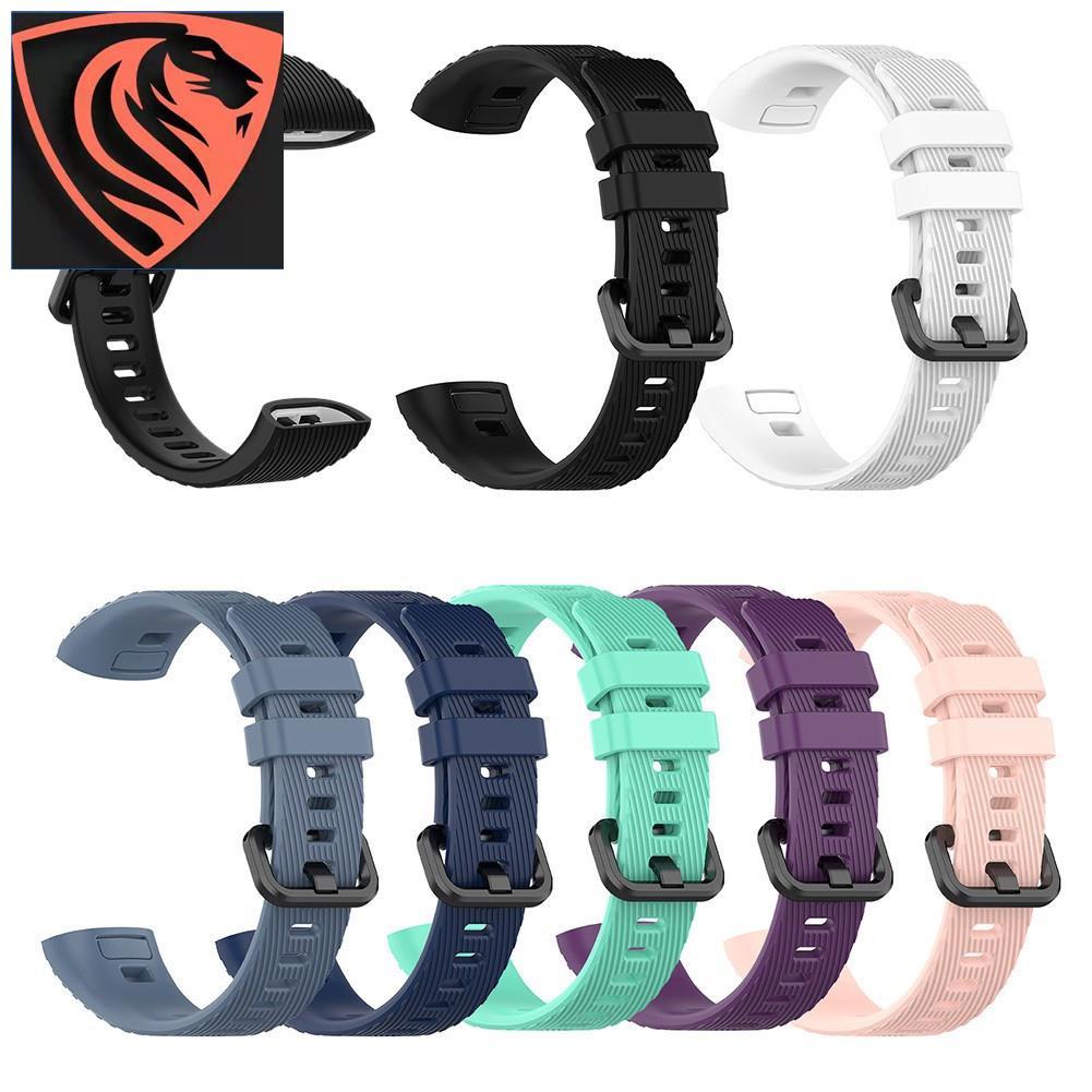 限時大促 ▶ML 適用於 HUAWEI Band 3 Pro 智能手環 矽膠更換錶帶
