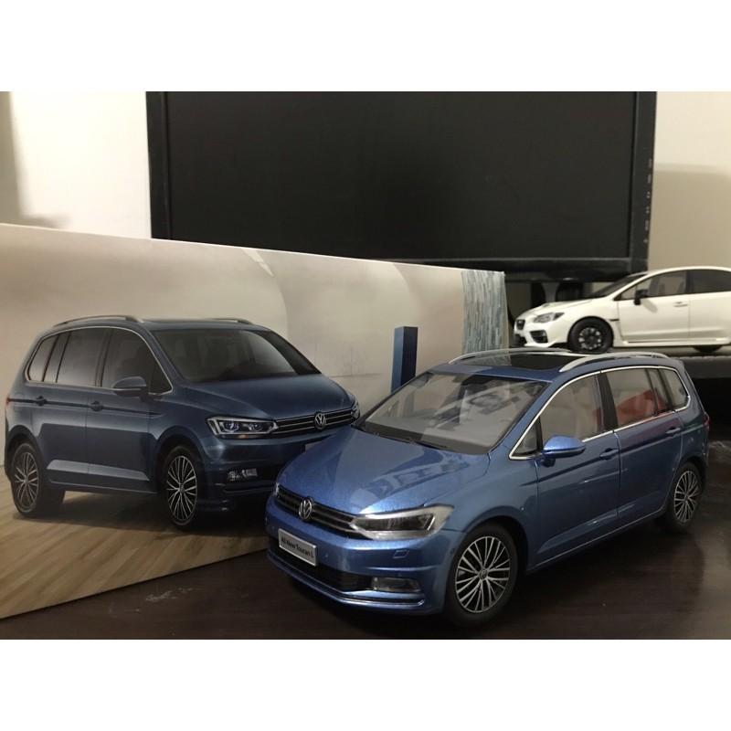 【E.M.C】1:18 1/18 原廠 福斯 Volkswagen All New Touran Touran L 模型