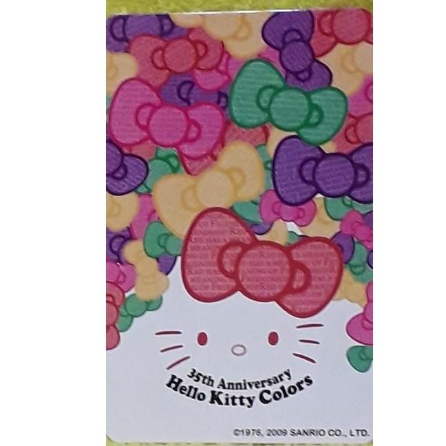 Hello Kitty 35週年紀念 悠遊卡