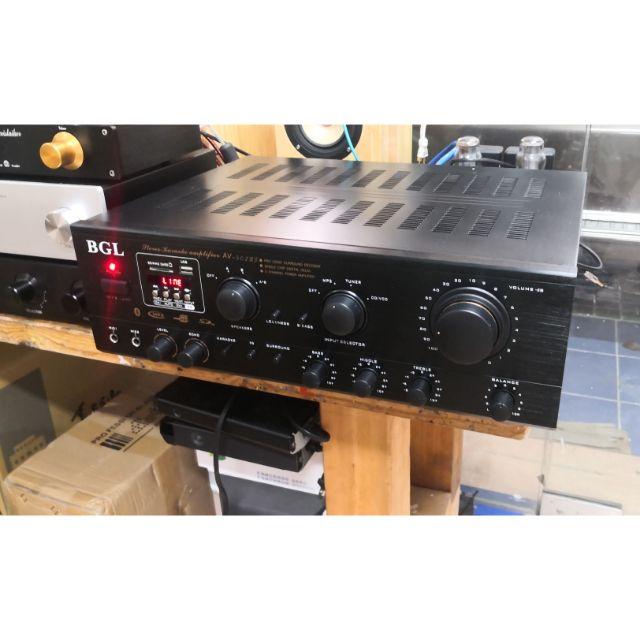 [添購]免運5聲道擴大機家用KTV大功率專業舞台音響無線傳輸5.0卡拉OK電腦SD綜合擴大機