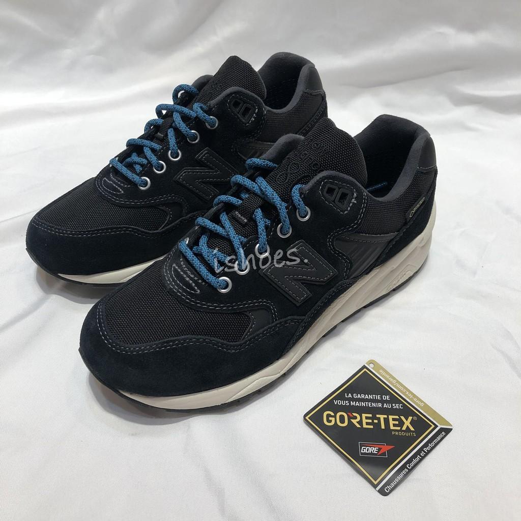 現貨 iShoes正品 New Balance 580 Gore-Tex 女鞋 寬楦 黑 藍 防水 MRT580XY D