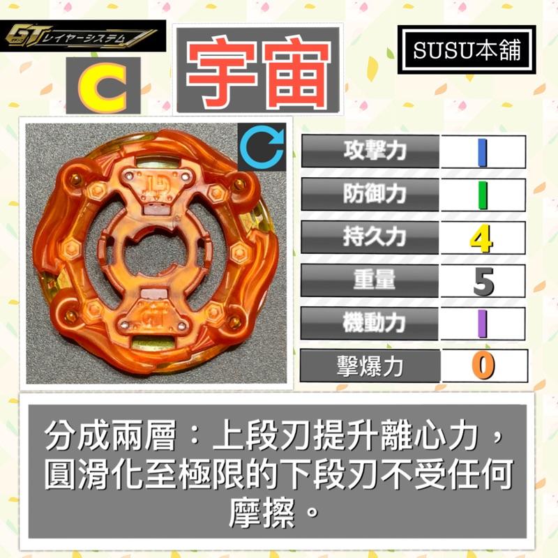 【Susu本舖】戰鬥陀螺 爆烈世代GT 宇宙 基礎輪盤 拆售系列 B140 B153