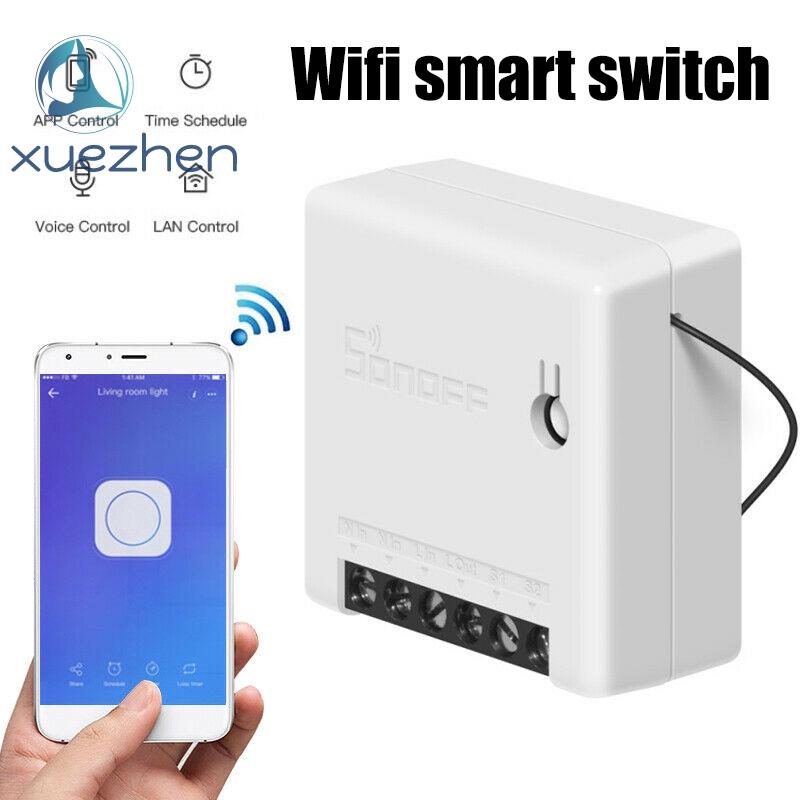 DIY WiFi應用程序遙控器2路智能開關Alexa小型定時電燈開關