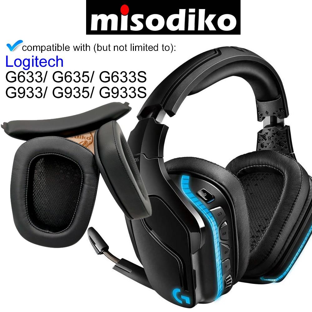 logitech 羅技 耳罩 耳機套 替換套 耳罩套 頭梁條 適用 g633 g933 g635 g935 g933s