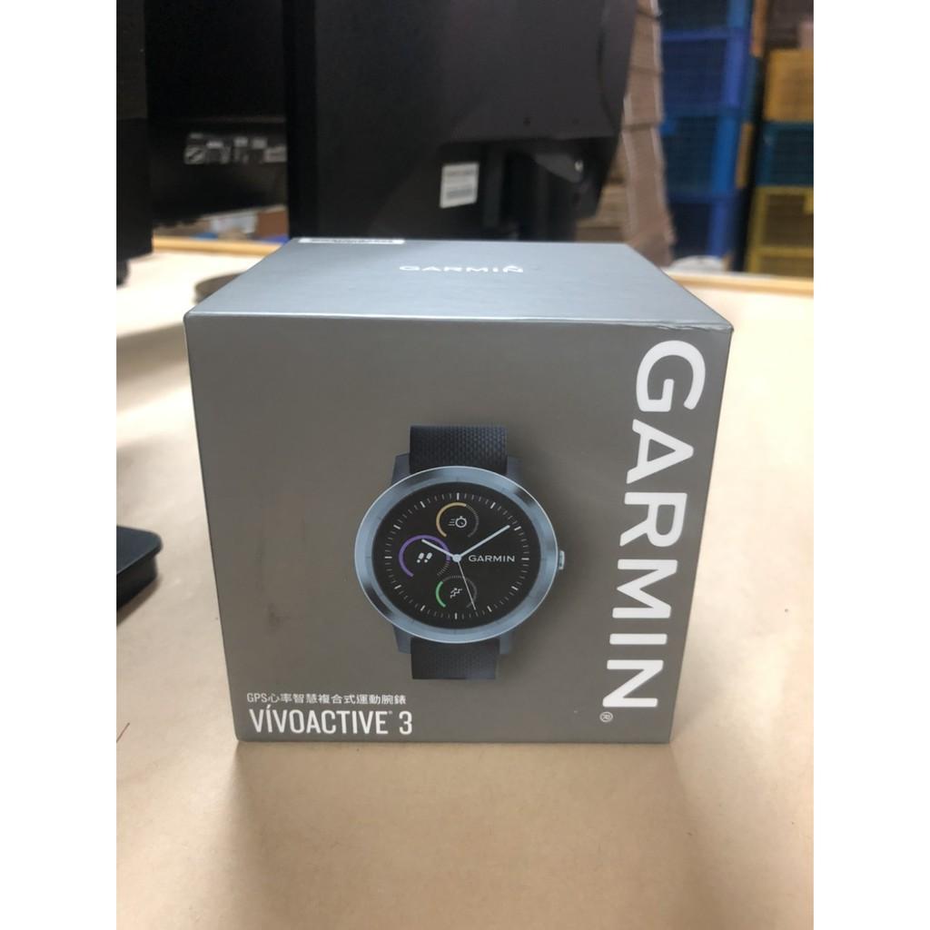[二手良品] GARMIN vivoactive3 尊爵黑 智慧手錶 悠遊卡 一卡通 GPS