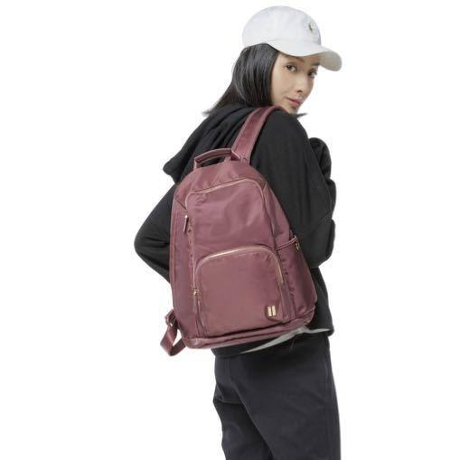 ☆SUMDEX☆人體工學設計 休閒後背包 網路最低價 樂遊遊 輕旅行 後背包 休閒 時尚 流行 簡約 764CR 紅色