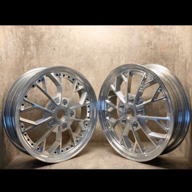 台南VOS偉士車坊-Vespa Zelioni 新款鍛造鋁圈 12吋 GTS GTV 春天衝刺 LX LT S 輪框