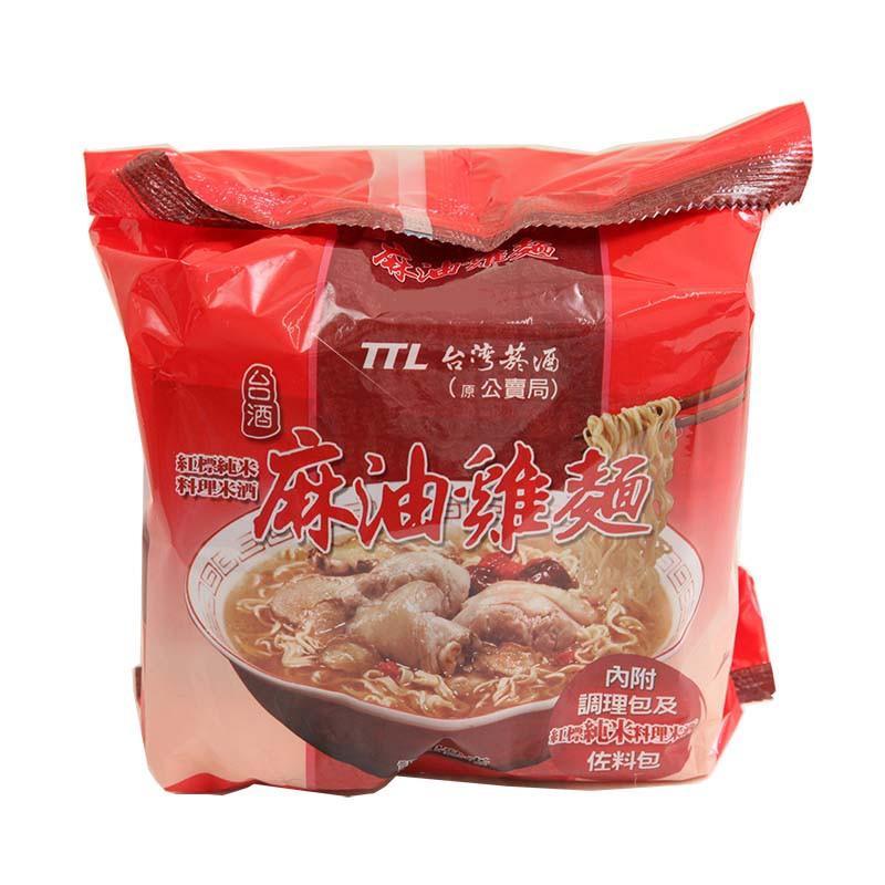 TTL台酒麻油雞袋麵3入/袋