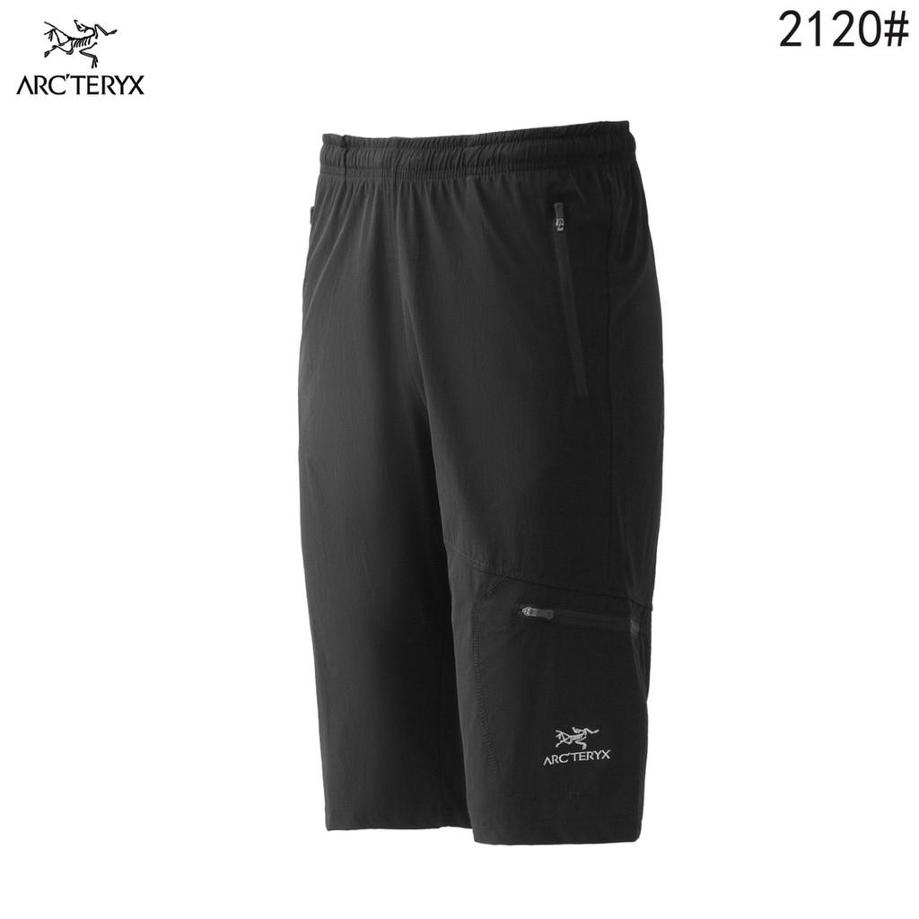 戶外ARCTERYX/始祖鳥速幹運動休閑健身跑步超薄速幹運動短褲 7分褲