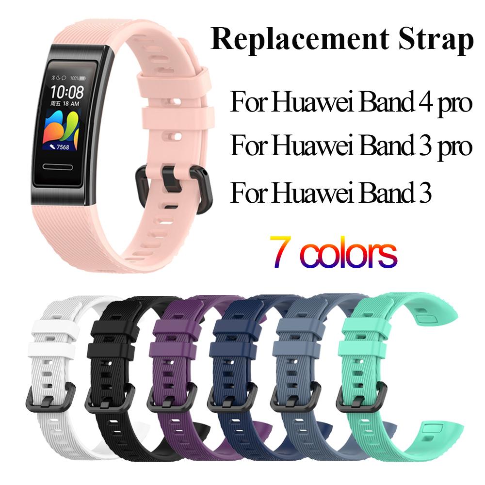 華為手環4 pro錶帶 腕帶 智能手環腕帶 華為手環錶帶 表帶 適用華為手環4pro Huawei Band 4 pro