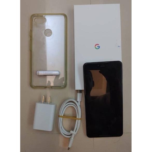 外觀蠻新過保白色Google pixel 3XL手機128g版.簡盒裝配件.全新保護貼.二手保護套.再降4900不議價