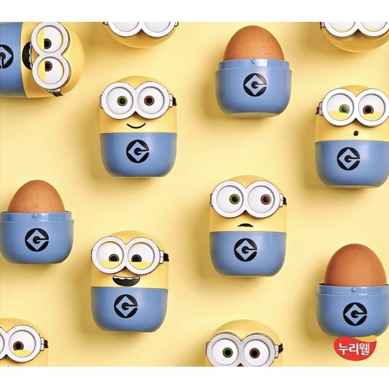 韓國代購 超商限定 Minions 小小兵雞蛋盒 超療癒 雞蛋盒 收藏 神偷奶爸