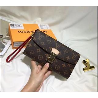 Louis Vuitton路易威登LV女長夾經典款白棋盤格子零錢包手腕包皮夾卡包 台北市