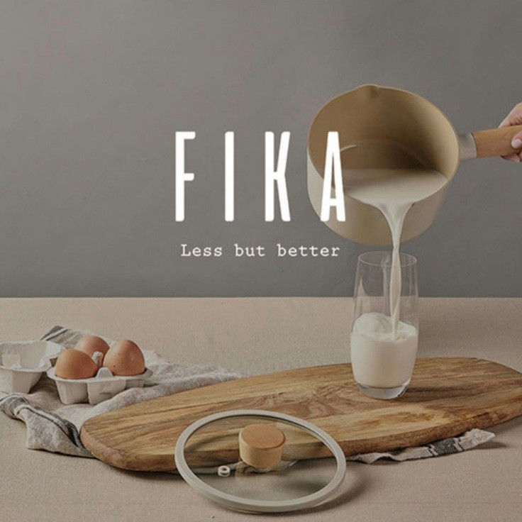韓國直送FIKA系列 NEOFLAM FIKA 系列 16cm 牛奶鍋 附鍋蓋