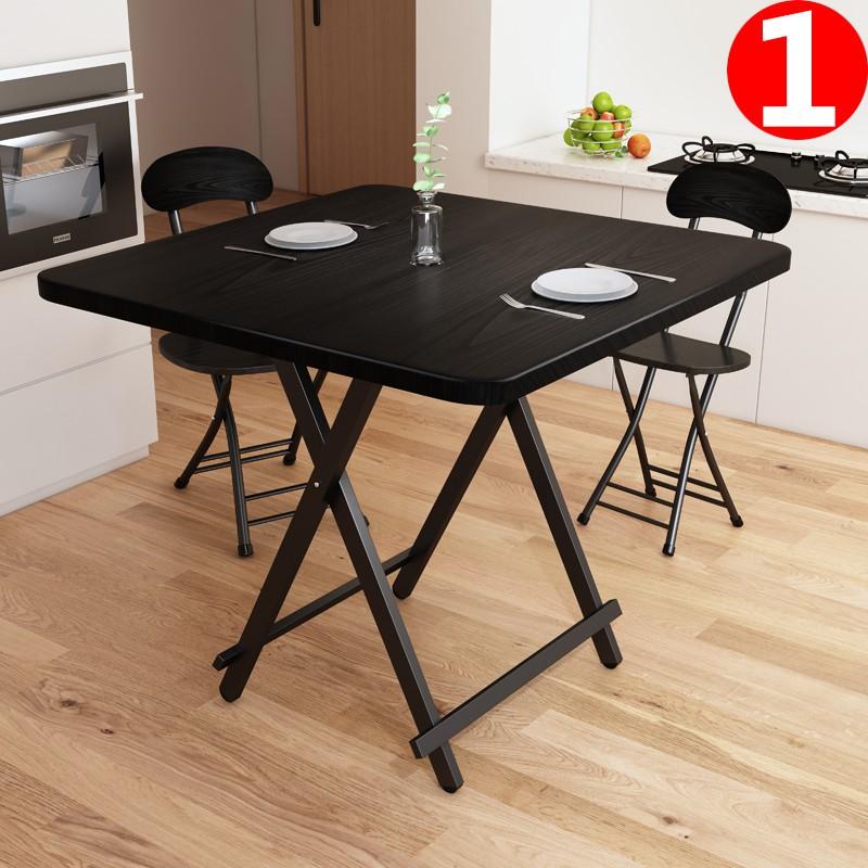 【店长推荐】折疊桌餐桌家用小飯桌便攜式戶外折疊擺攤桌正方形簡易小桌子租房