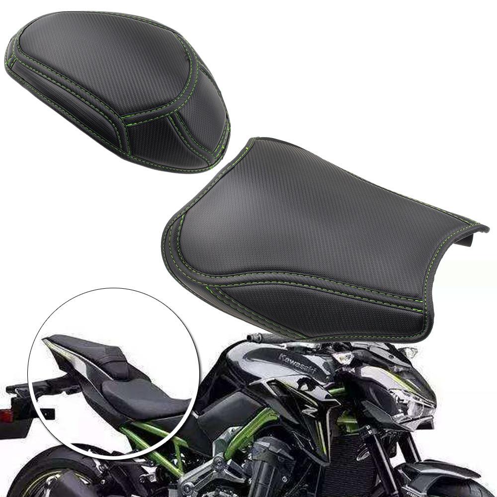 摩托車坐墊套 適用於川崎Z900 2017-2019 碳纖維改裝坐墊套