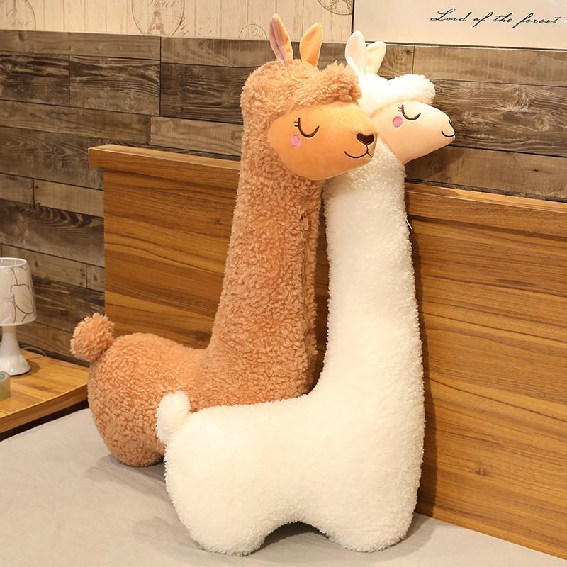 ⚡現貨發售⚡ 新款羊駝抱枕床上睡覺居家毛絨玩具公仔陪伴玩偶娃娃送男女生禮物 0223