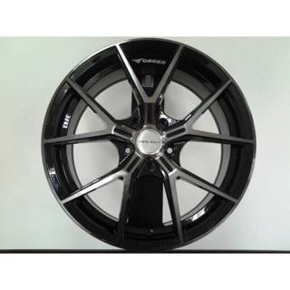 MAHOM 18吋5-112黑底染黑透旋壓輕量鋁圈 價格標示88非實際售價 洽詢優惠中