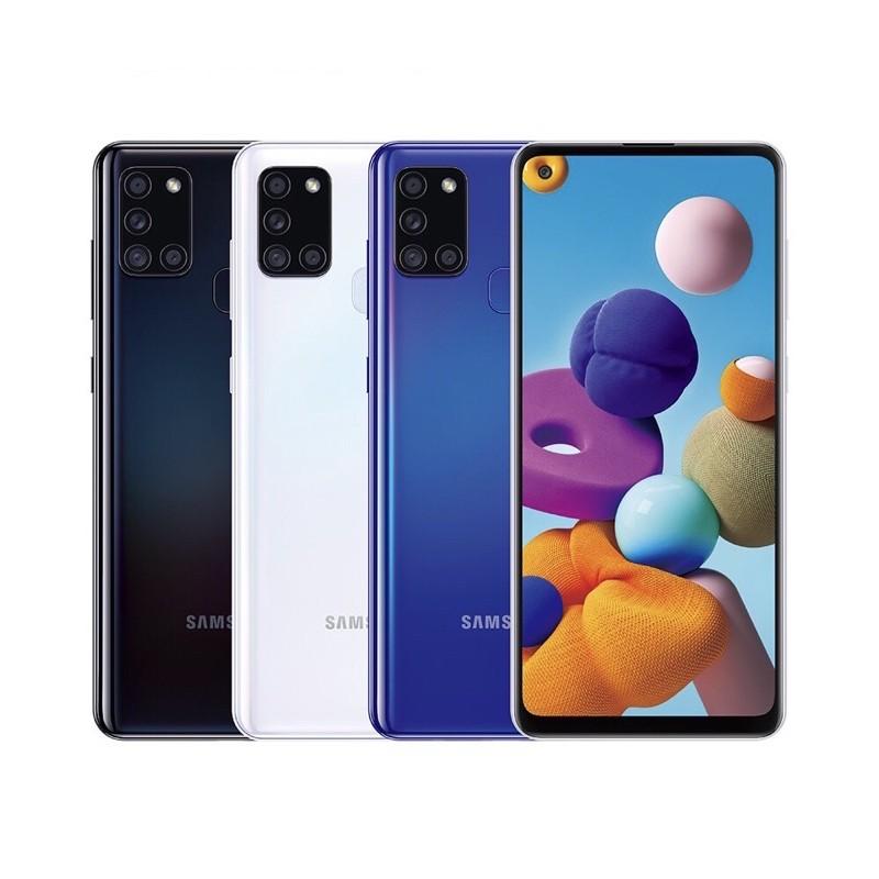 SAMSUNG Galaxy A21s (4GB/64GB) 智慧型手機 幻石藍/幻石黑/幻石白