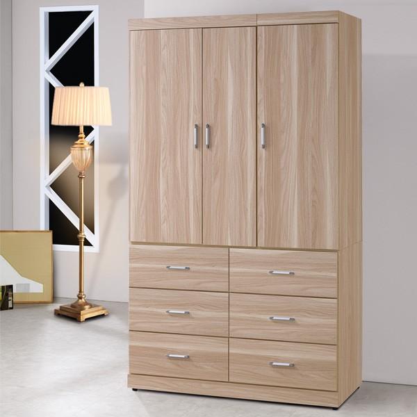 YoStyle 雪琪4X7衣櫃 衣櫥 衣物櫃 櫥櫃 吊衣 收納櫃 置物櫃 專人配送安裝