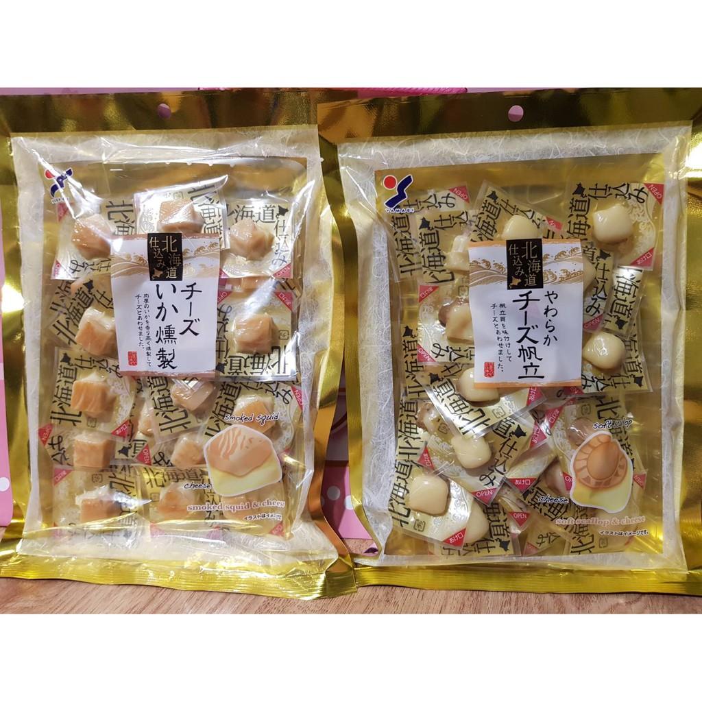 北海道 山榮 燻製魷魚起司  山榮 起司干貝 起司 扇貝 干 起士扇貝干 北海道起司帆立貝