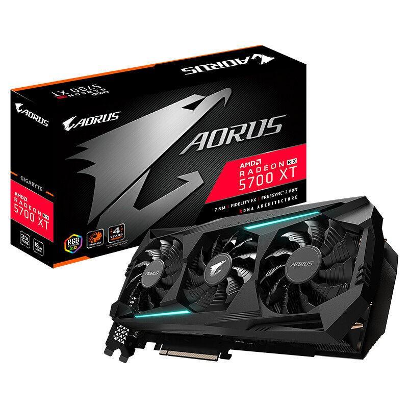 現貨 技嘉AMD RX580/590 RX5700XT/5600XT 8GB 臺式機電腦電競顯卡A卡
