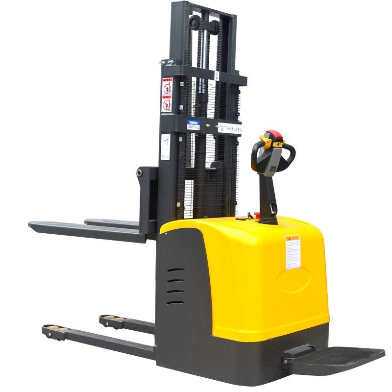 【免運】全電動叉車站駕式1.5噸2自動升降3米4堆高搬運車小型裝卸鏟車液壓