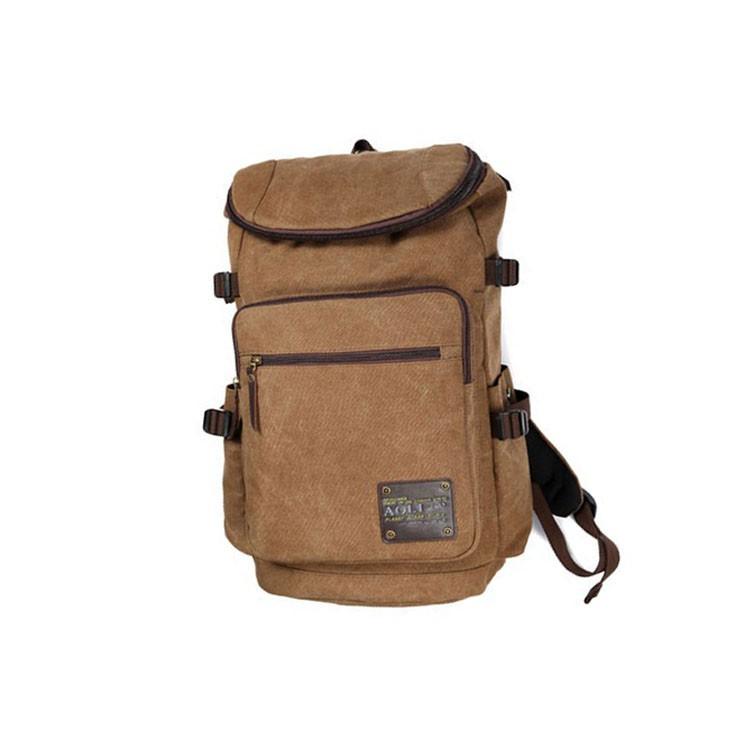 雙後背包帆布戶外登山包旅行包書包大容量電腦背包丫丫頭頭05-28