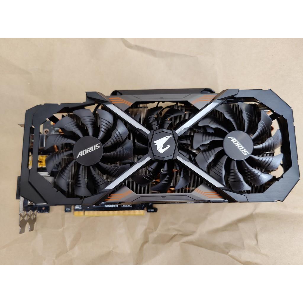 AORUS GeForce® GTX 1080 Ti 11G 二手