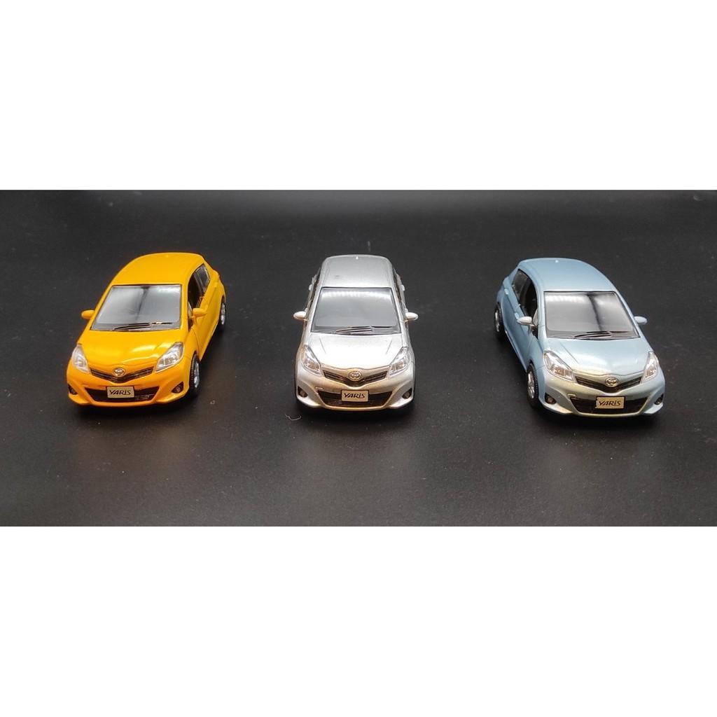 台灣 現貨 TOYOTA YARIS 1:36 金屬 迴力 模型車 合金車 迴力車 玩具 紀念 禮物 模型 小鴨 豐田